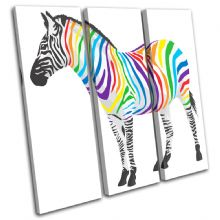 Abstract Zebra Animals - 13-1856(00B)-TR11-LO